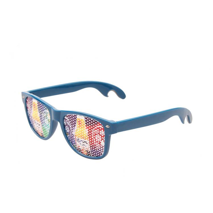 Sticker bottle opener sunglasses party sunglasses
