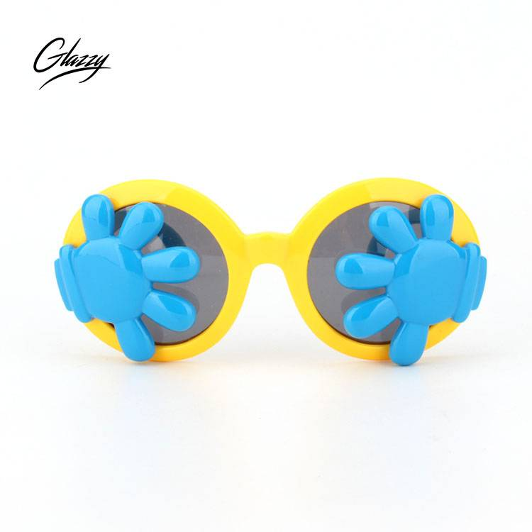 2018 funny children's sunglasses with colorful material kids colorful sunglasses with polarized lens trade assurance order