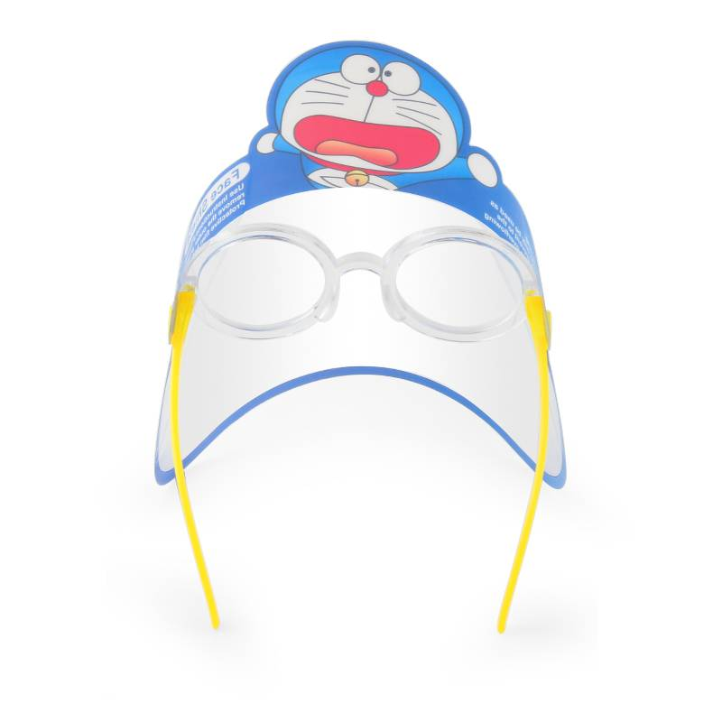 Children Cartoon Print Anti-Fog Face Guard Safety Protection Glasses Face Covering for Outdoor and School