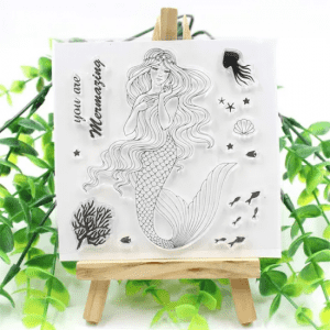 Clear Stamp Set for Scrapbook