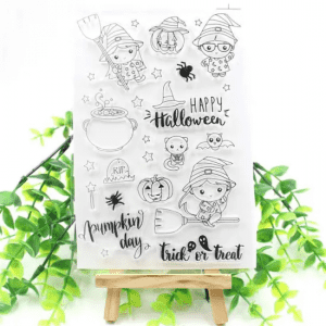 Custom Clear Stamp with Card Making