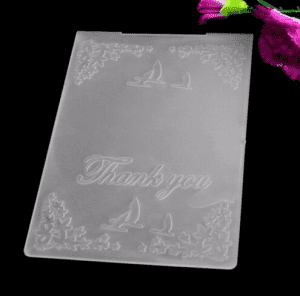 3D Embossing Folder for DIY Card Making Craft