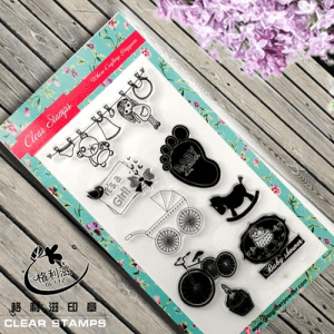 New Design Cute Clear Stamps for Scrapbooking with Good Price