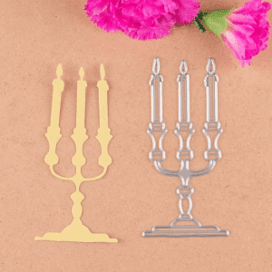 Candle Cutting Dies for Scrapbooking