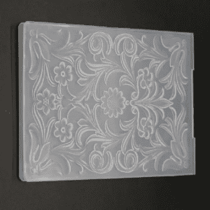 Plastic 3D Embossing Folder for Scrapbooking and Card Making