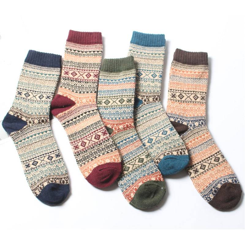 Women Knitted Socks – item#WKS2009-30 Featured Image
