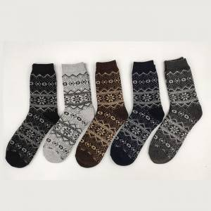 Men Knitted Socks – item#WKS2001-08