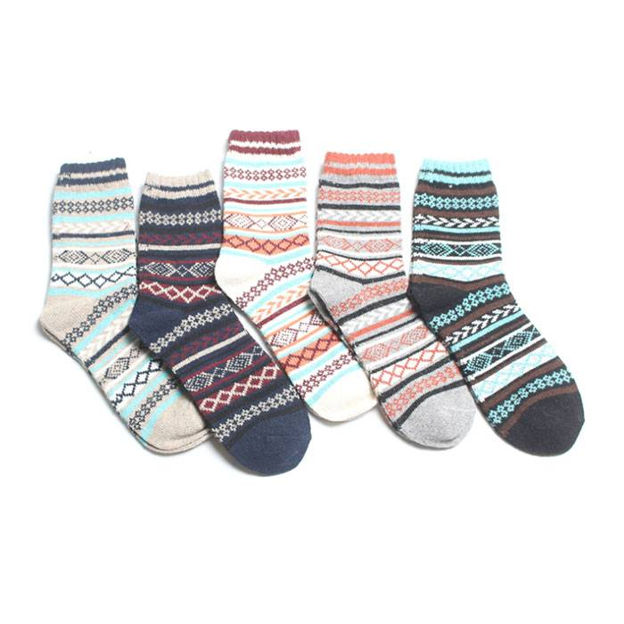 Men Knitted Socks – item#WKS2001-08 Featured Image