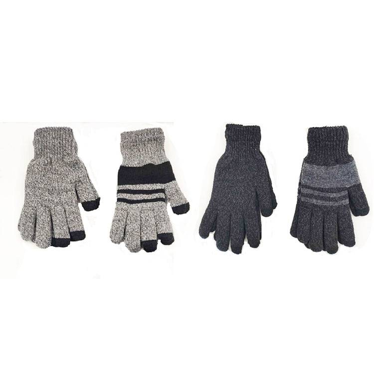 Mens Knit Gloves with Touch Screen Featured Image