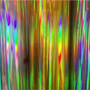 Holographic Metalized Lamination Film Different Pattern PET & BOPP for Paper Board and Packing