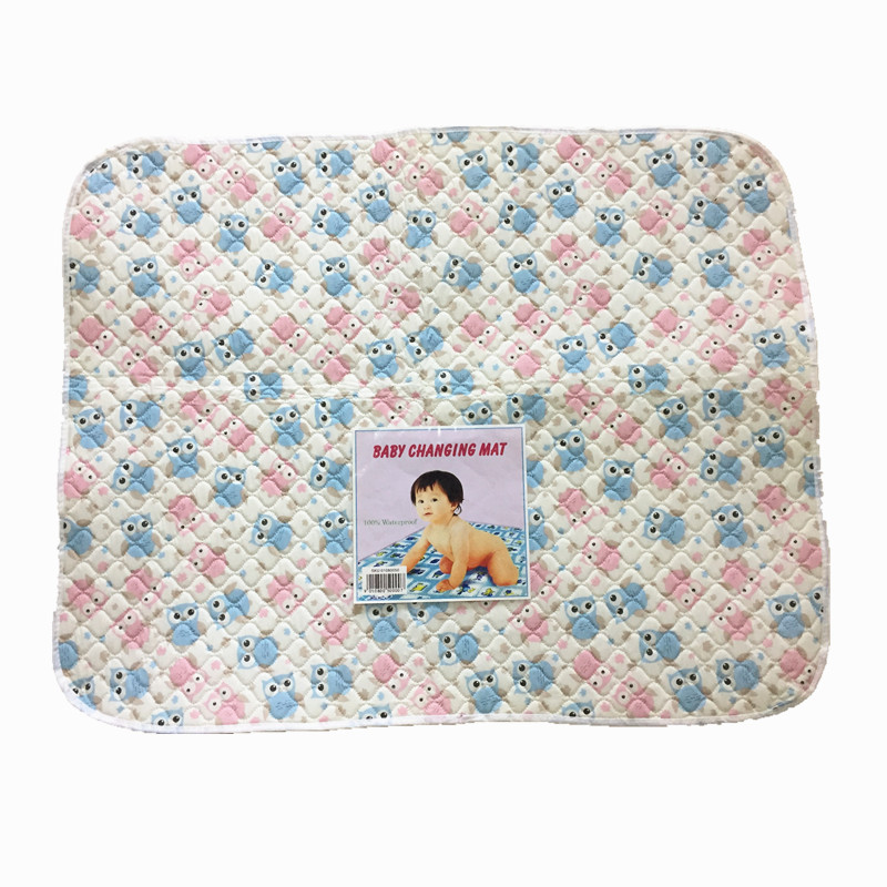 100% Waterproof Washable Baby Diaper mat changing mat