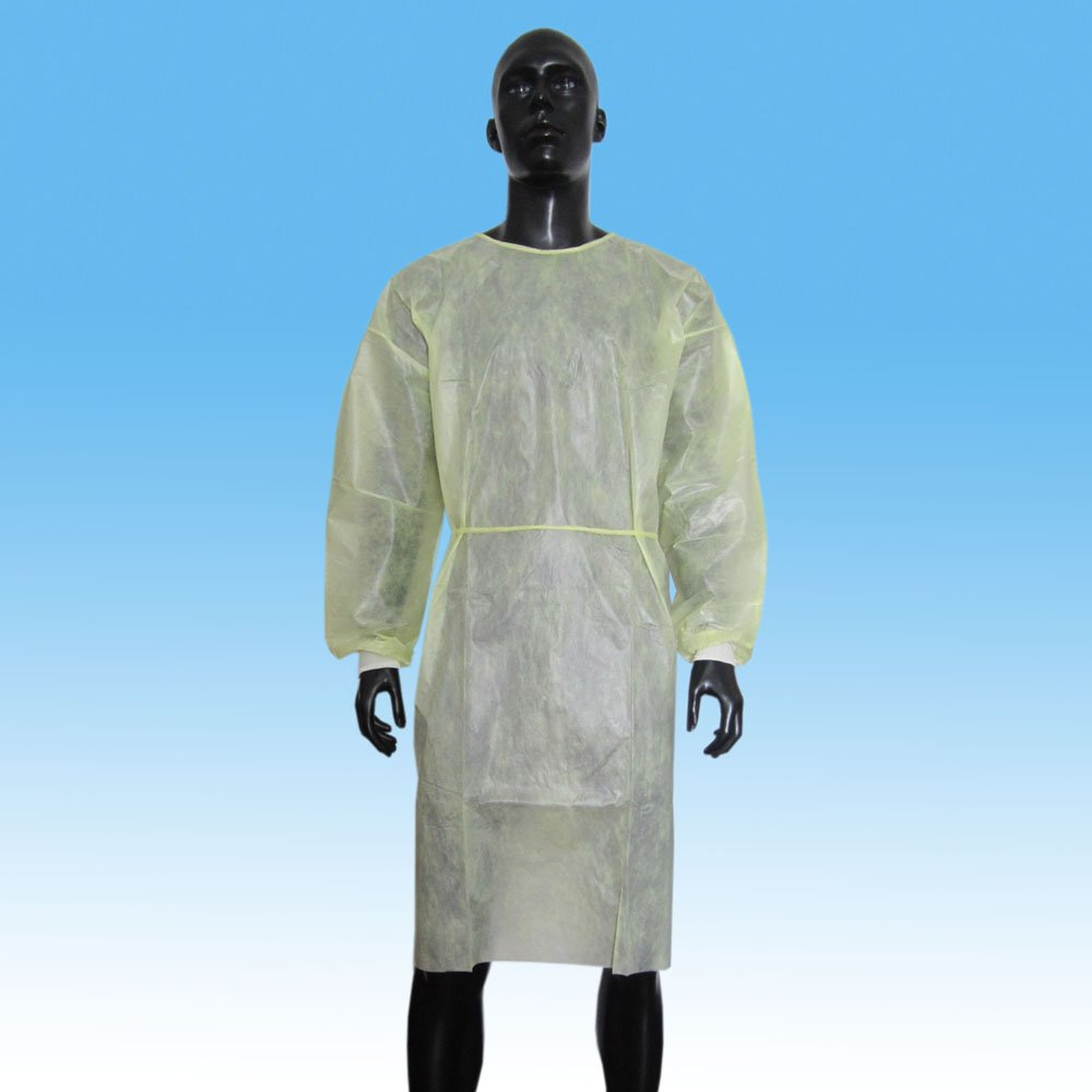 AAMI/ANSI PB70 Level 2 Disposable isolation gown