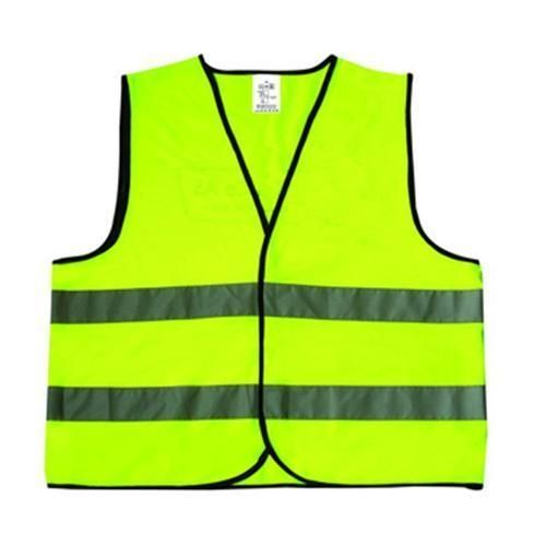 Safety vest with high standard reflective stripes