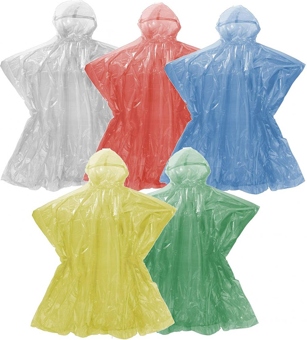 waterproof PLA corn starch BIO rain poncho