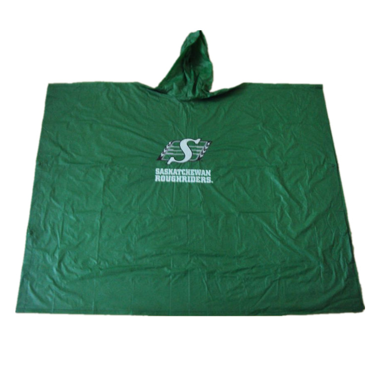 Promotion Pvc waterproof adult rain poncho for ladies