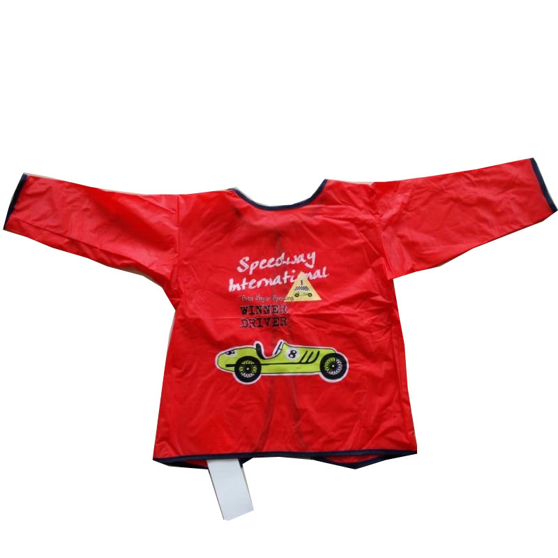 Waterproof Plastic   kids  Apron