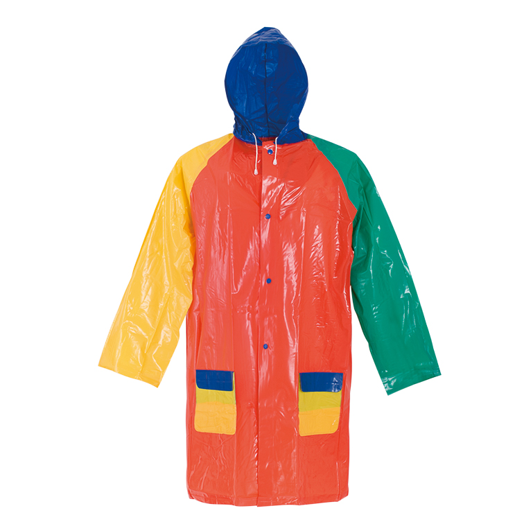 Reusable cartoon pvc children/kids  raincoat