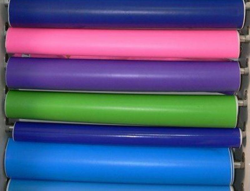 PVC colorful baby diaper film
