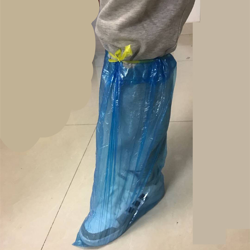 waterproof disposable LDPE shoes cover
