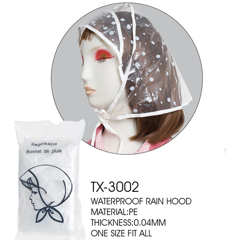 Disposable cheap rain bonnet