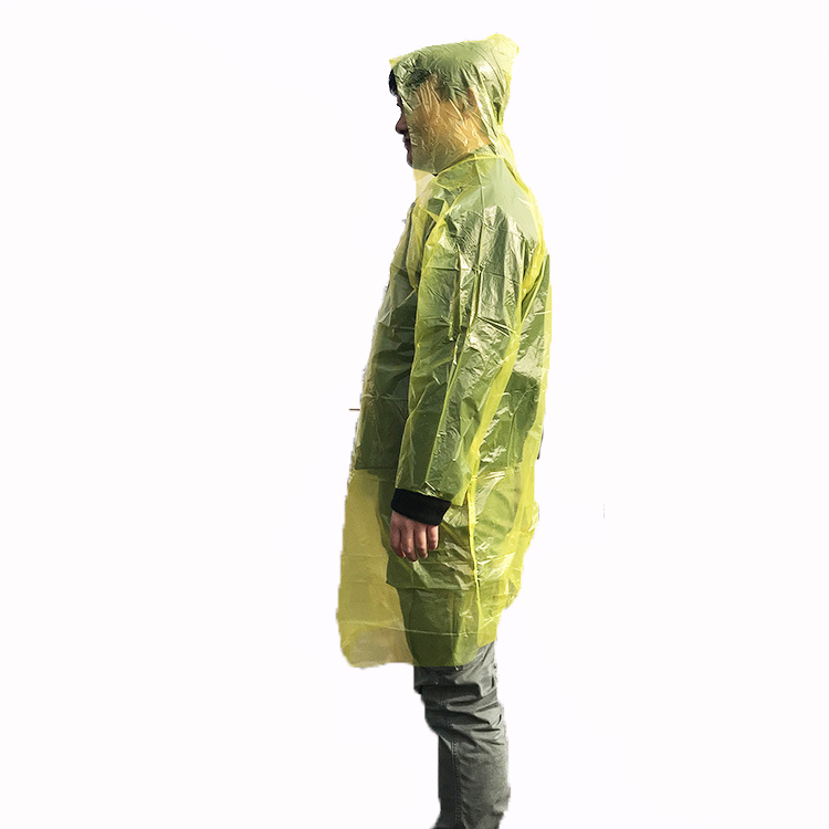 Best Seller Promotional Disposable Raincoat Rai...