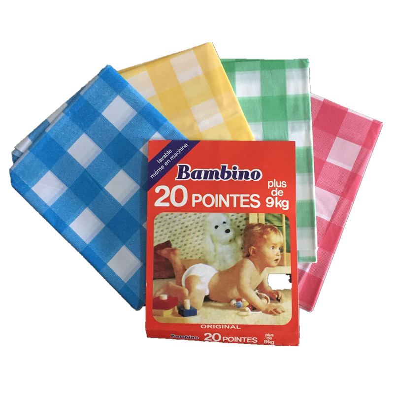 factory sale PEVA soft baby diaper pants