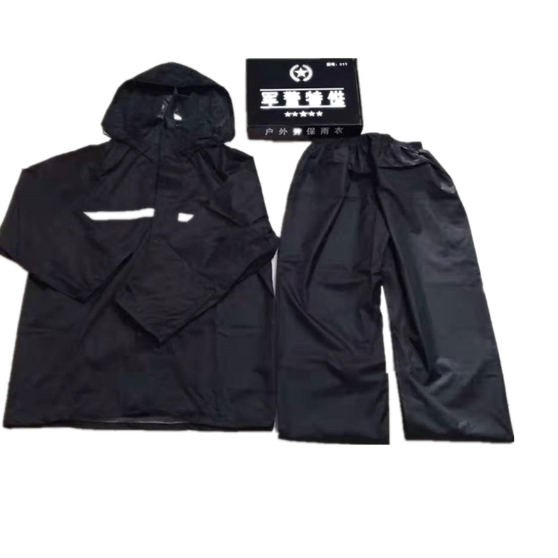 Oxford cloth pvc coating Raincoat suit