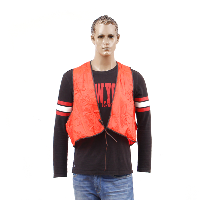 pvc safety vest for outdoor with cheap price