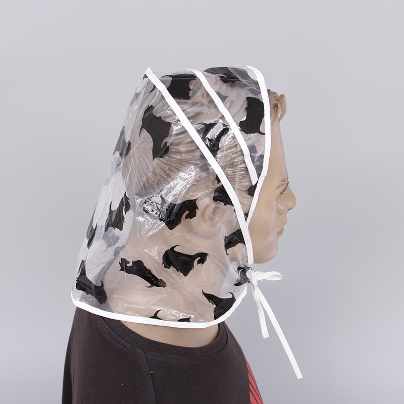 Promotional Fashion Plastic Rain Bonnet Wholesale