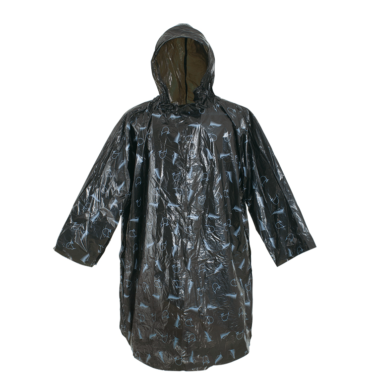 Promotion disposable pe rain ponchos