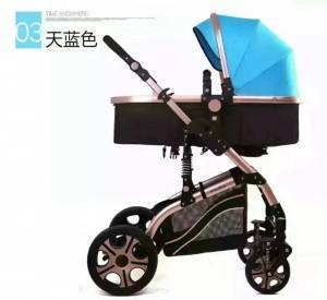 Good quality hot sale luxury child safety portable light weight foldable baby prams