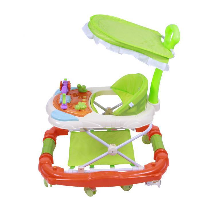 Musical baby walker wholesale kids new model baby walker