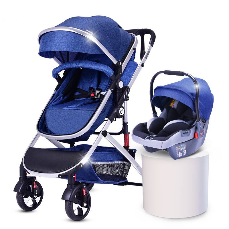 germany detachable double baby stroller/newborn strollers and car seat bikestroller/strollercarseat Featured Image
