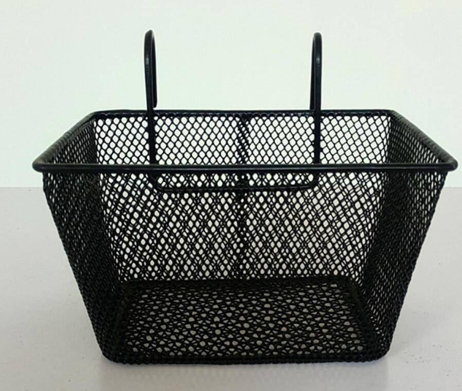 FACTORY – bicycle basket with stainless steel wire basket with hook