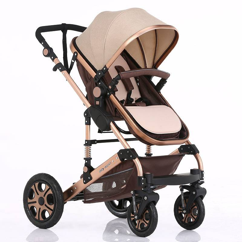 Baby stroller 2020 hot sale/ new model luxury design baby stroller 3 in 1 with high quality/baby stroller with big wheels