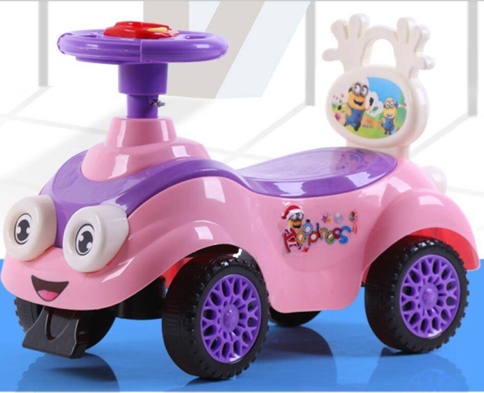 cartoon design baby swing car with environmental protection from directly manufacturer