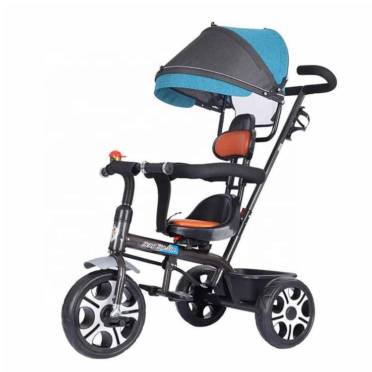 Factory Supply tricycle baby 1 year old child/hot selling children tricycle malaysia/cheap baby tricycle price with handle bar Featured Image