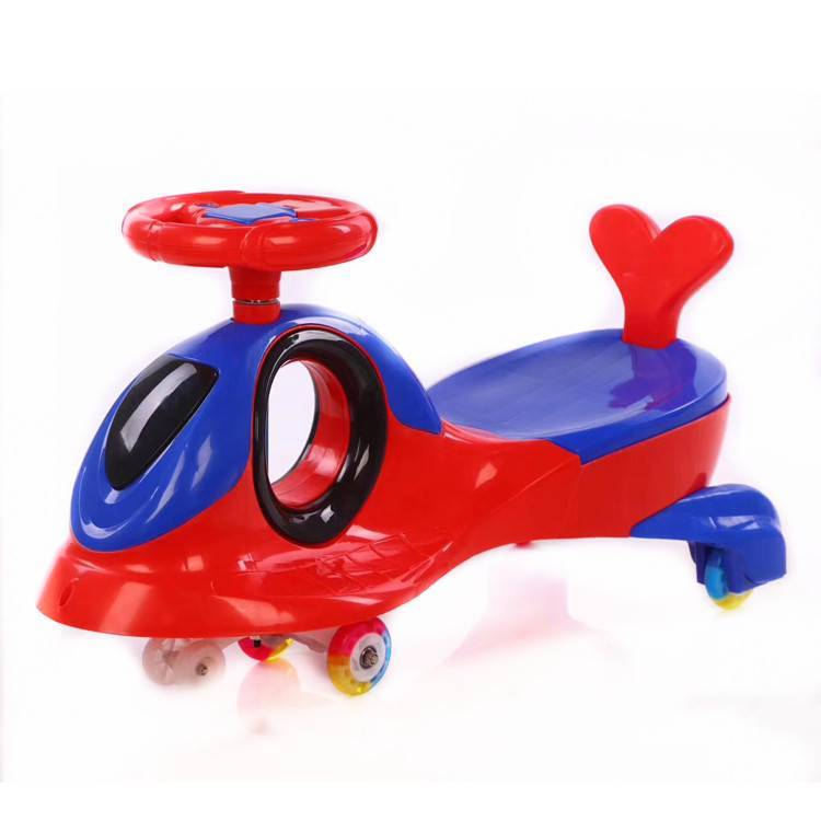 safe plastic kids twist car/beautiful toy gift magic swing car for kids/new plastic material baby swing car toddlers twist car
