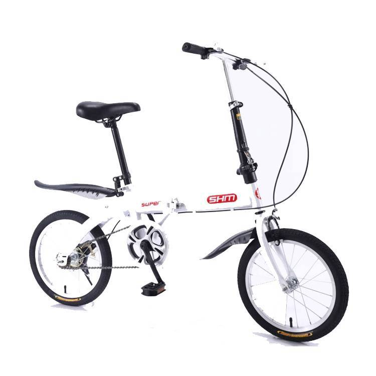 China manufacture bicycle folded 7 speed/popular small wheel folding bicycle/Aluminum alloy rims 24 inch folding bicycle