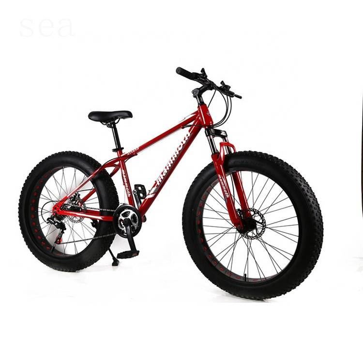 26 inch snow bike /fat tire bike new model /4.0 alloy rims beach cruiser bike