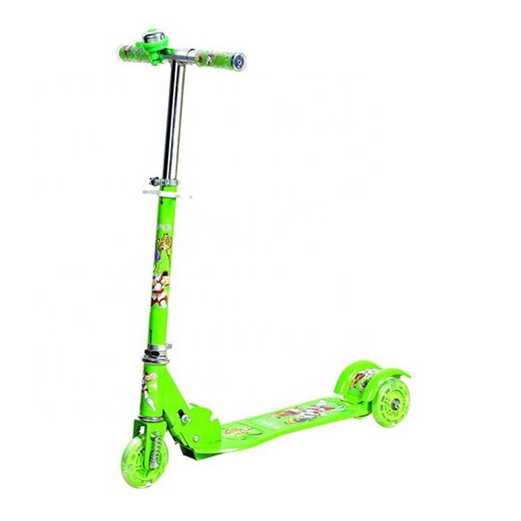 T bar kick scooter for kids / kids' balance with kick scooter PU wheels / children foot pedal kick scooter