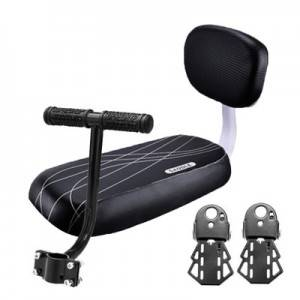 2020 Hot Sale Cheap Soft Cushion Upgraded Removable Back Rest Passenger Rear Seat Waterproof Bicycle Back Seat