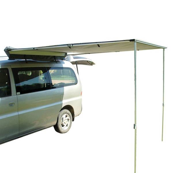 Camping Car Roof Top Tent with side awning Featured Image