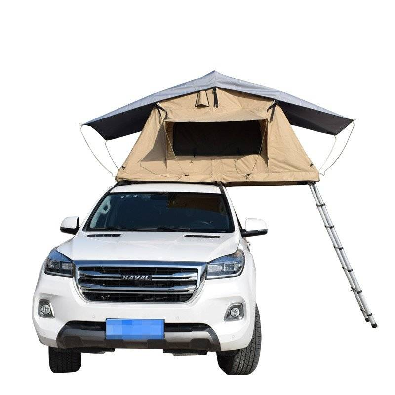 Hot Sale 2 Person 4WD Vehicle Roof Top Tent Car Camping Rooftop Tent Featured Image