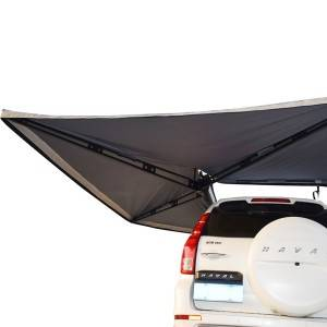 car side awning rooftop pull out tent shelter