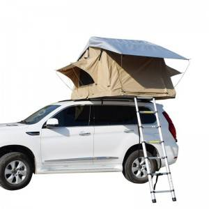 Hot Sale 2 Person 4WD Vehicle Roof Top Tent Car Camping Rooftop Tent