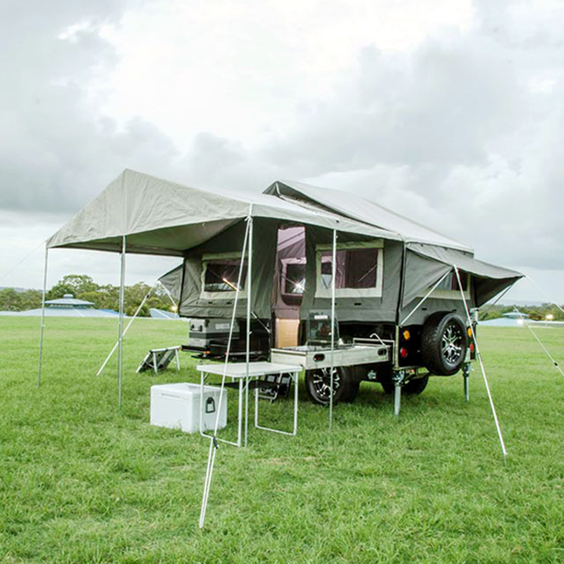 Hard floor  Camper trailer tent Featured Image