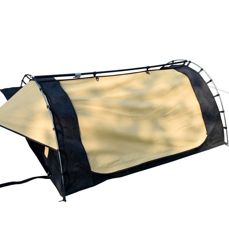 Camping canvas swag tent Featured Image
