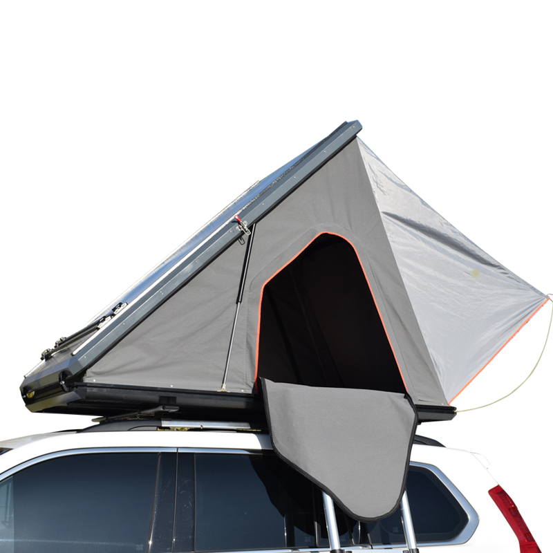 Aluminum hardshell triangle car roof top tent T30 Featured Image