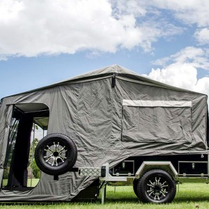 Hard floor  Camper trailer tent